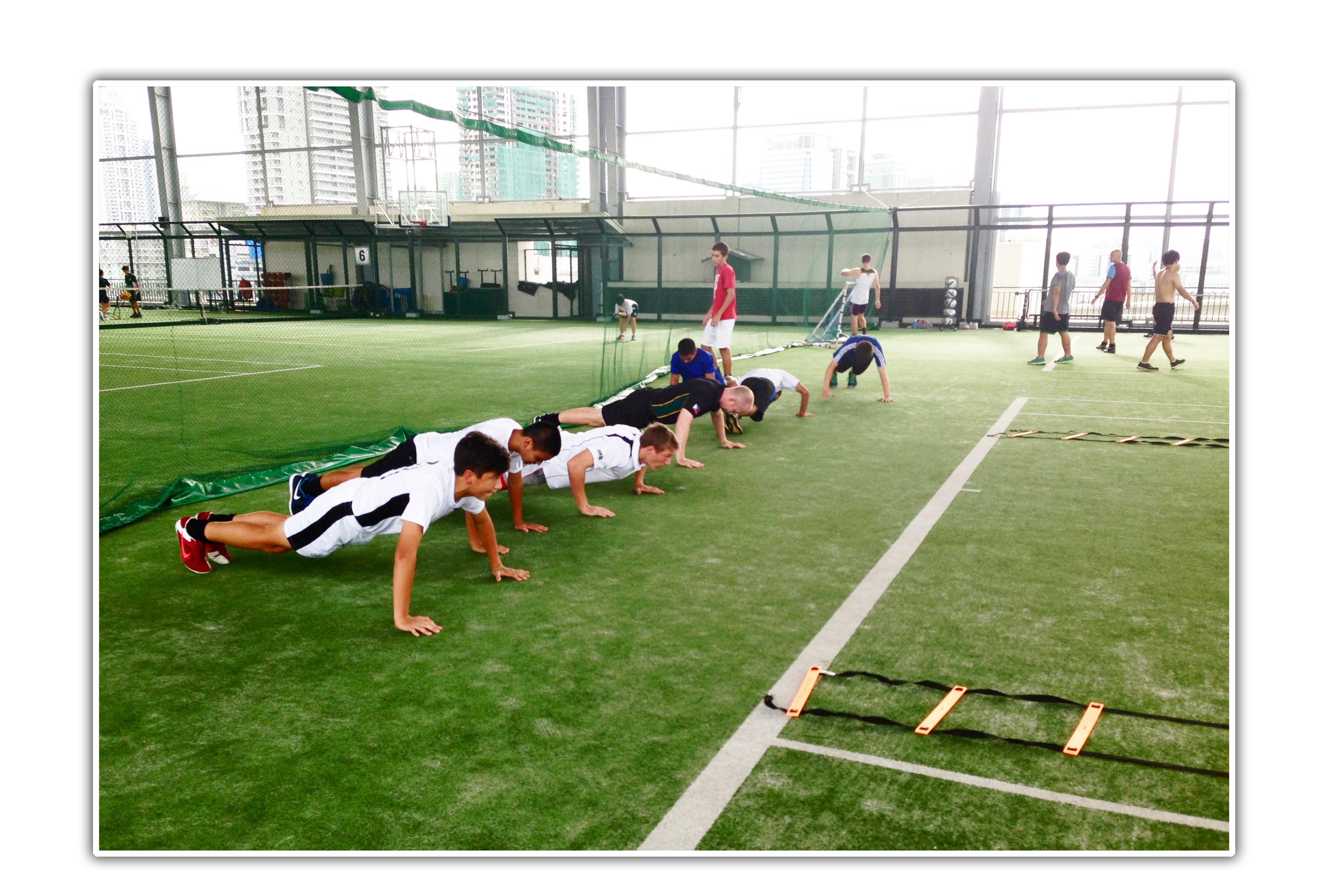 Highland games training program