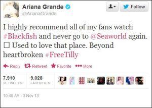 ariana-grande-blackfish-tweet