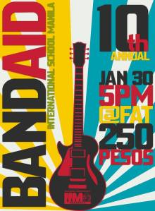 Band Aid Poster
