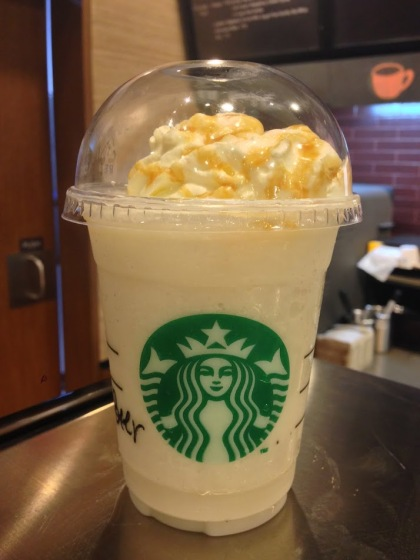 Butter Beer Frappuccino