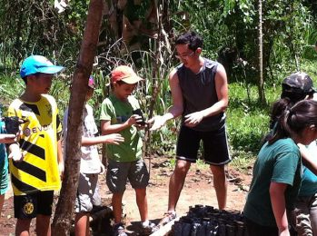 Eco Council Service Trip #2 - Credits to Ms. Christine Yamanaka