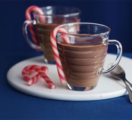 4. Peppermint hot chocolate