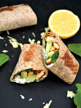 Grilled-chicken-avocado-and-spinach-wholemeal-wrap-2