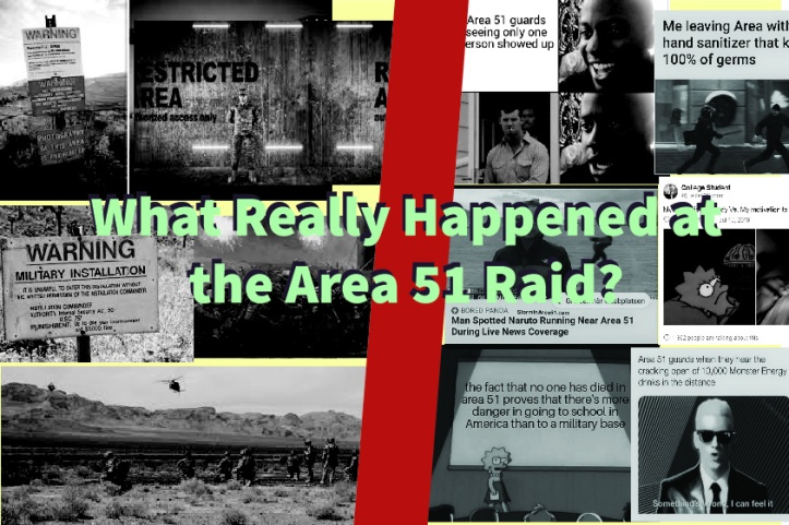 What really happend at the area 51 raid- Somya Duggal
