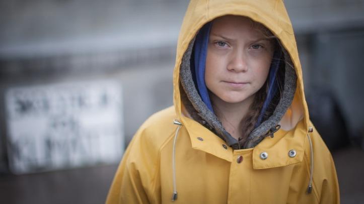 Greta Thunberg Visual