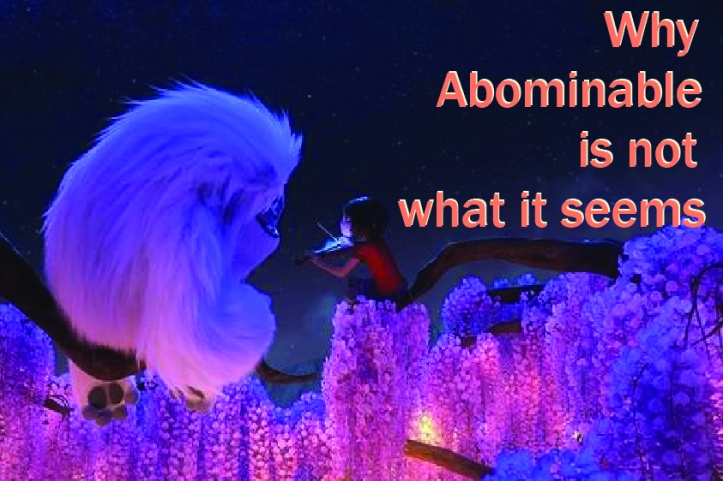 why abominable is not what it seems - Somya Duggal new