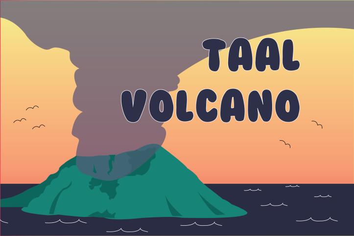 Taal Volcano Izzie Poblador